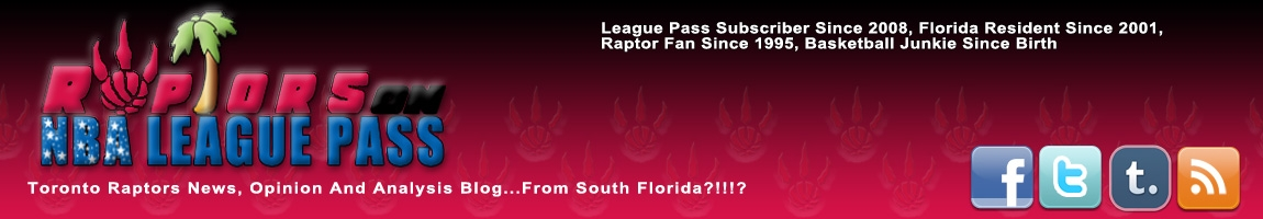 Raptors On League Pass LBanner